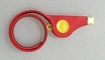 口哨运动硅胶手环