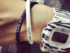 硅胶手环,运动能量手环厂家