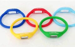 定制硅胶女性手环|能量足