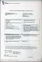 手环Disney迪士尼验厂认证证书