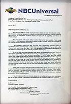 NBCUniversal环球影视验厂认证手环厂家